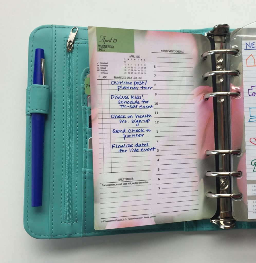 My Two-Minute Planner Tour | http://LearnDoBecome.com