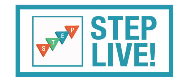 Announcing…STEP LIVE! (Come Join Us!)