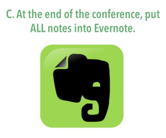 ConferenceNotes.1CSlide.LearnDoBecome