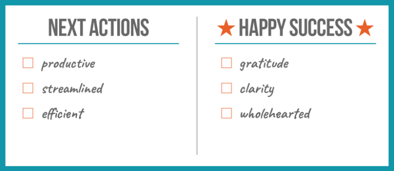"Secrets to Your ""Happy Success"" List"