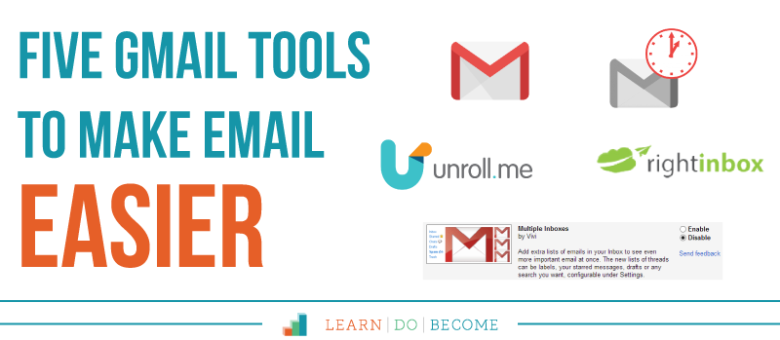 [Podcast 35]: Five Gmail Tools to Make Email Easier
